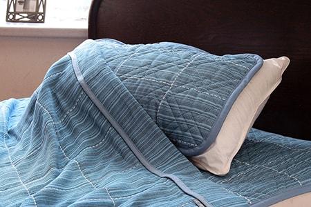 三河木綿 ふわふわ麻わた枕パッド