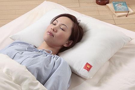 オーガニックコットンキャメル枕