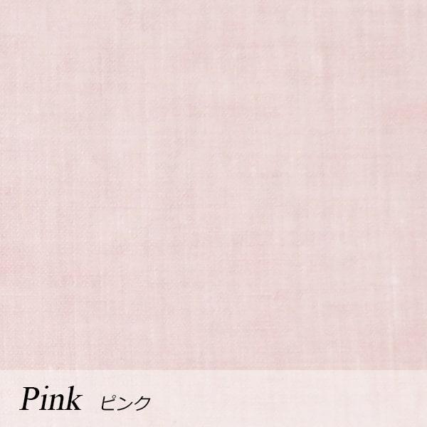 a・sarari(あさらり)リネンボックスシーツ シングル 100×200×30cm #ピンク