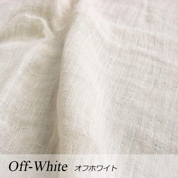 a・sarari(あさらり)リネンダブルガーゼケット 140×190cm #オフホワイト