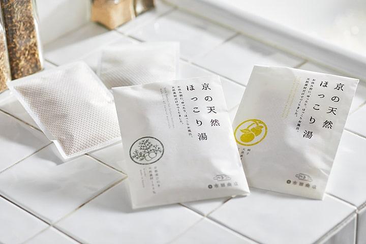 天然素材100%の無添加入浴剤 京の天然ほっこり湯