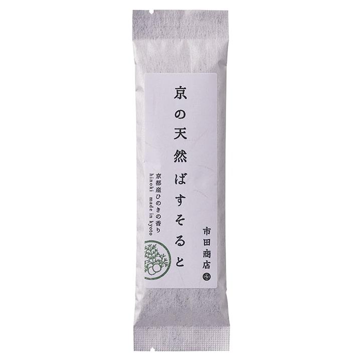 浴用バスソルト 京の天然ばすそると 京都産ひのきの香り 50g