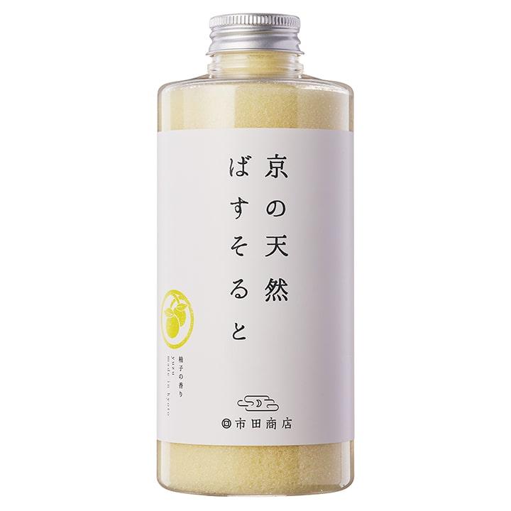 浴用バスソルト 京の天然ばすそると 柚子の香り 700g