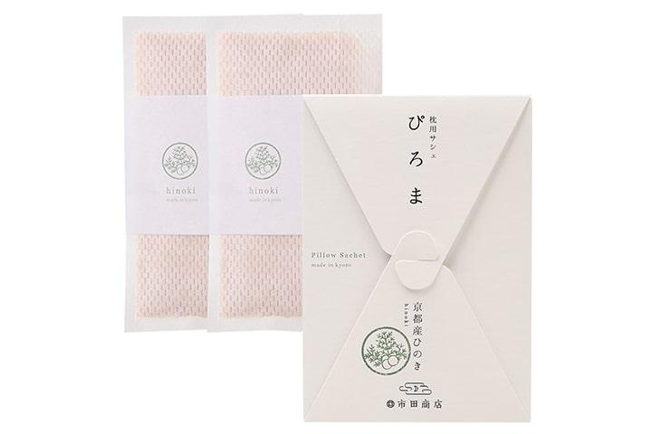 ピローサシェ|ぴろま枕用サシェ 京都産ひのき