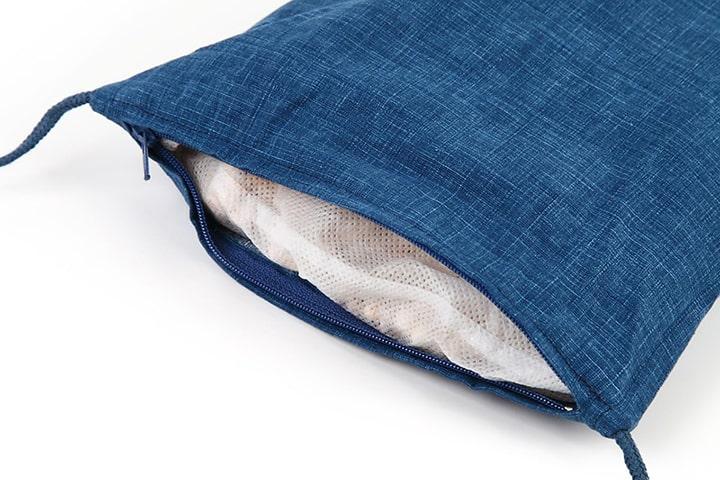 ごろ寝ひのき枕|洗えるカバー