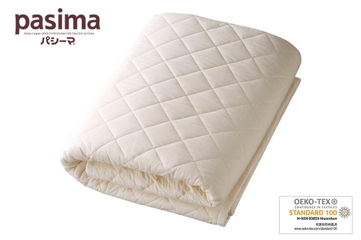パシーマパットシーツ(敷きパッド) シングル 110×210cm