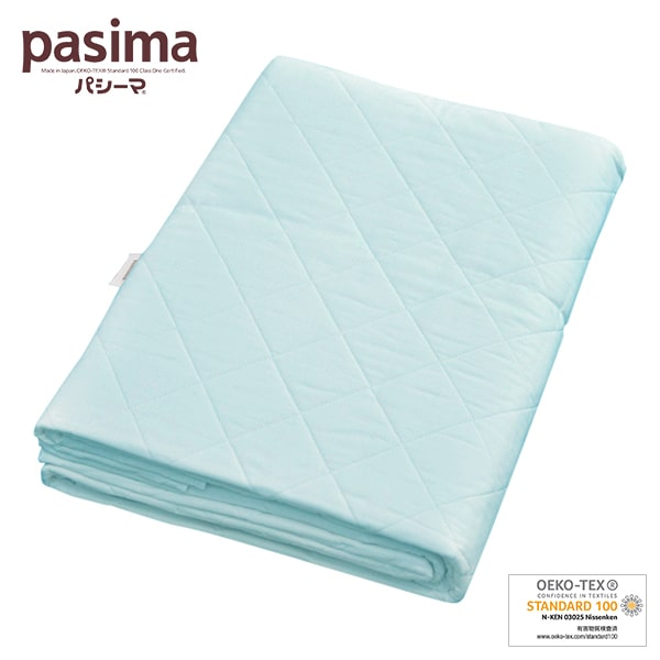 パシーマ キルトケット <ジュニア> 120×180cm <ブルー>