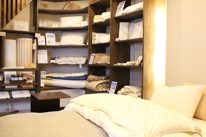 市田商店 眠りにまつわるお品もの専門店